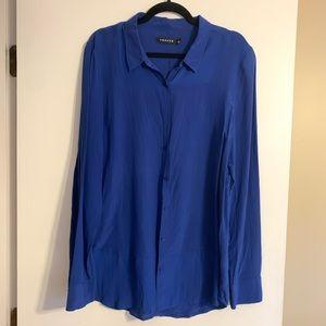100% silk Trouve blouse